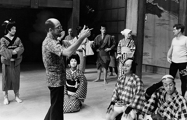 James Brandon directing Road to Kyoto