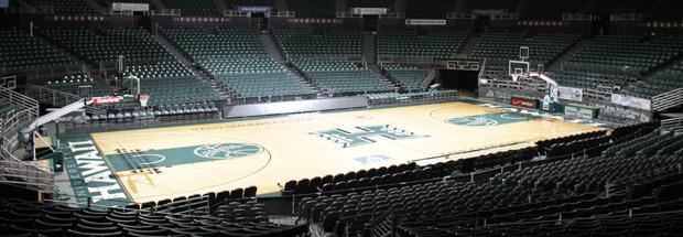 Manoa athletics basketball court