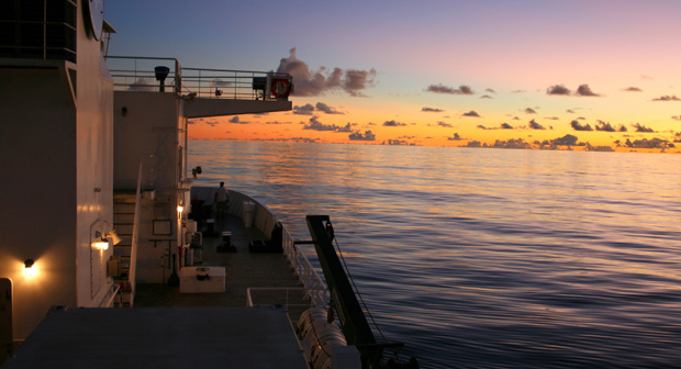 Station ALOHA from UH research vessel