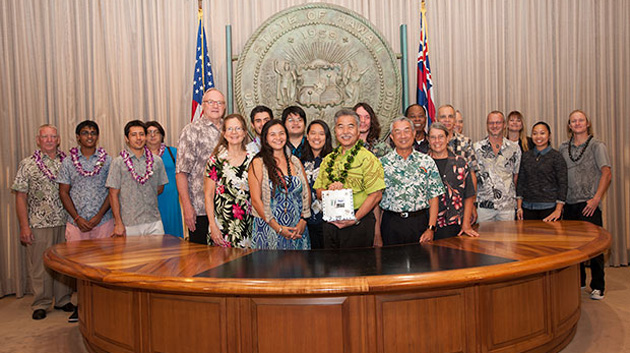 Governor David Ige Commends Project Imua Team Members