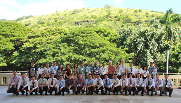 Participants in the UH training program