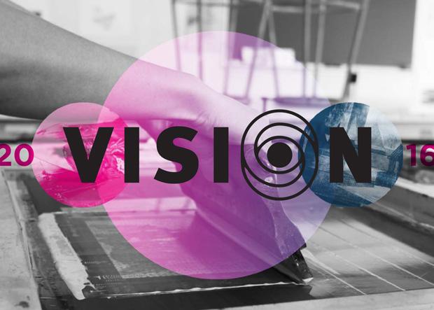 Exhibit flyer cover, VISION 2016