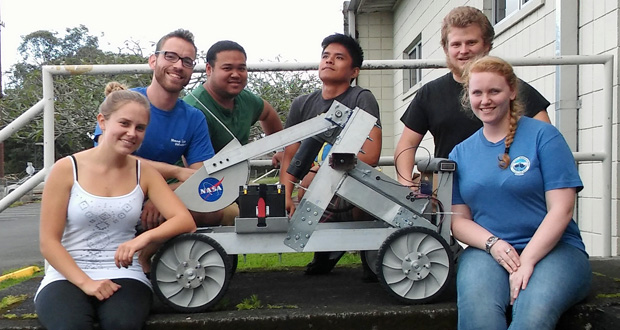 UH Hilo Space Robotics Team Heading To NASA Robotics Competition At Kennedy Space Center