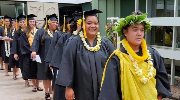 UH Commencement Molokaʻi Style