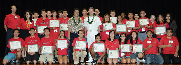 GenCyber Hawaii students