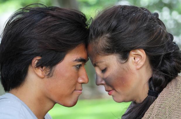 actors embracing