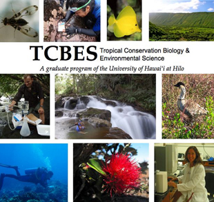 Tropical Conservation Biology and Environmental Science poster