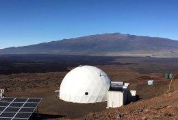 La cúpula del proyecto HI-SEAS en el Mauna Loa, Hawái. Fuente: Universidad de Hawái.