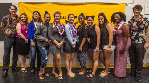 Maunakea Scholar Students And Instructors