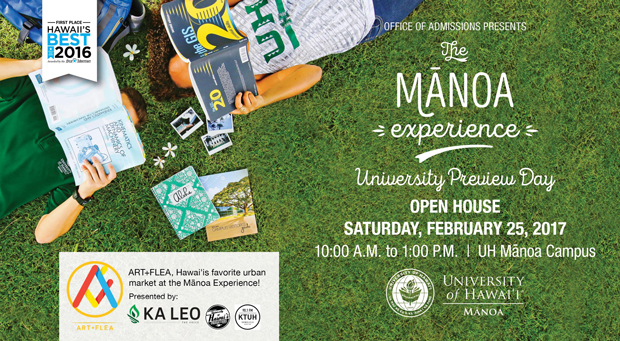 The Manoa Experience - University Preview Day 2017