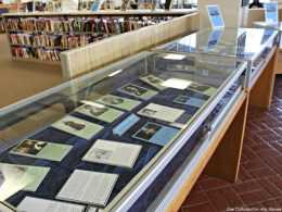 Black History Month exhibit in Mookini Library
