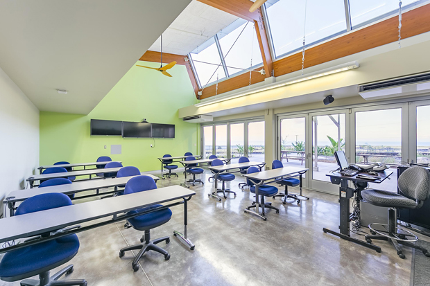 Classroom Building Design ~ Pālamanui earns leed platinum status for sustainable