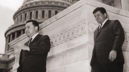 Daniel K. Inouye and Henry Giugni