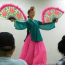 traditional Korean dancer