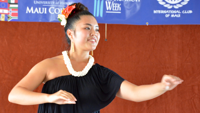 International Food, Exhibits And Performances At UH Maui College Festival