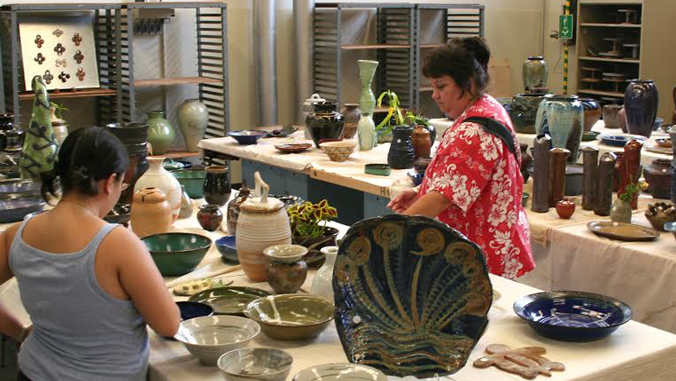 Fall holiday pottery sale