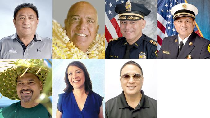 Seven distinguished alumni