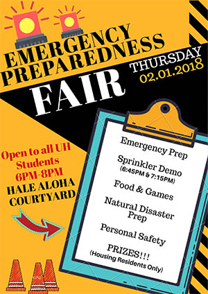 Emergency Preparedness Fair flyer
