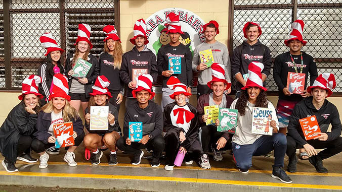 UH Hilo Students Share Dr. Seuss With East Hawaiʻi Schools