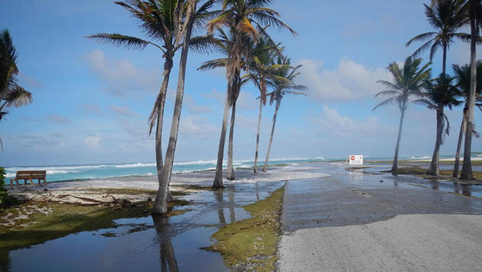 Sea-level rise could leave low-lying islands uninhabitable