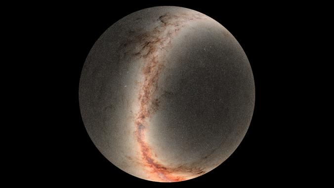 mosaic of Pan-STARRS images