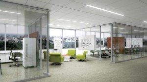 render of Sinclair Library meeting rooms