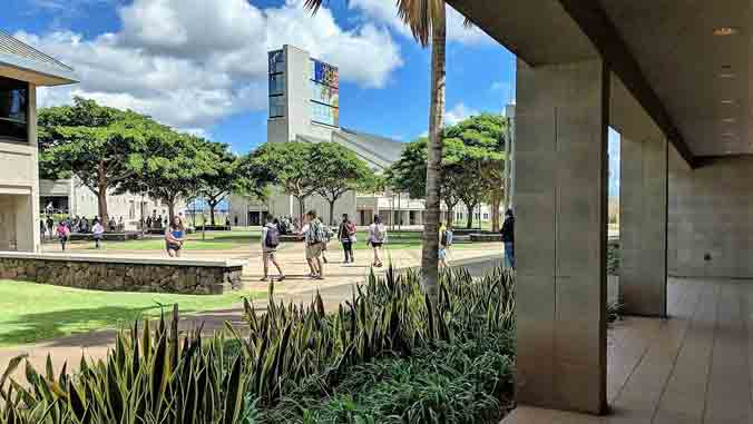 U H West Oahu campus