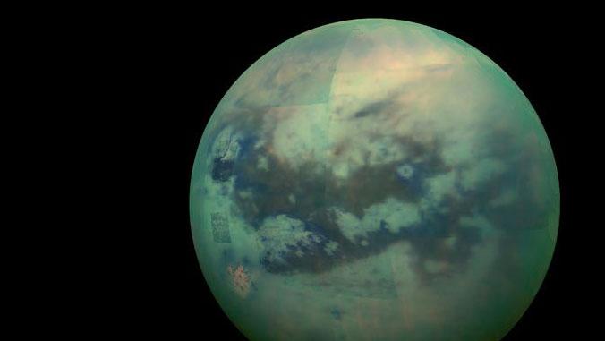 UH team unravels origin, chemical makeup of Titan's dunes