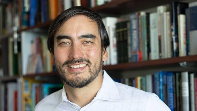 Tim Wu smiling