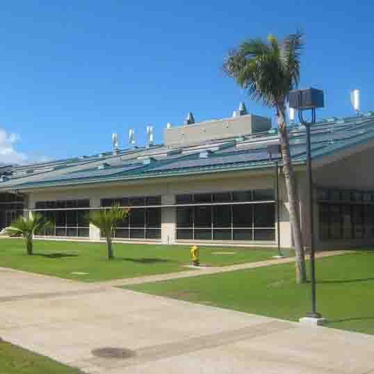 Science Building rooftop solar array