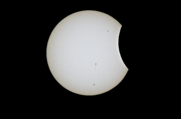 Partial Solar Eclipse seen from Hawaiian Paradise Park, Puna, Hawaii at 3:26 p.m. HST May 20, 2012 Photography by Baron Sekiya   Hawaii 24/7