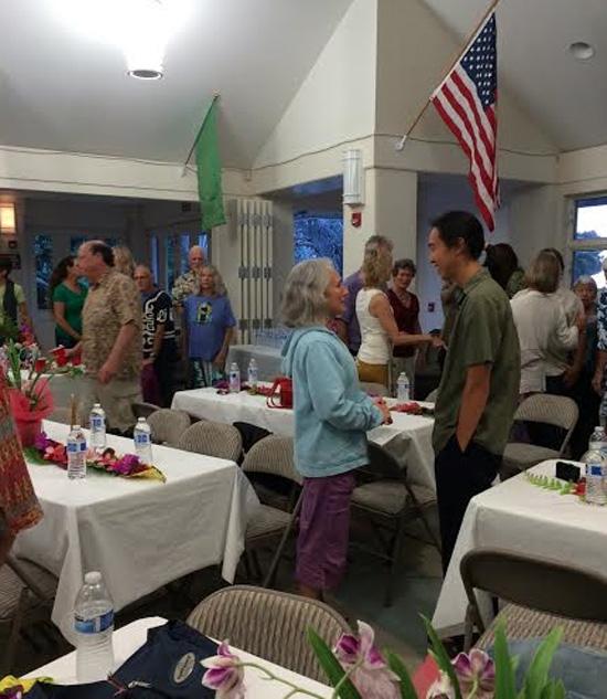 Big Island Yoga Center 25th anniversary dinner. (Photo courtesy of Big Island Yoga Center)