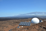 HI Seas Facility on Mauna Loa. Courtesy of HI-SEAS
