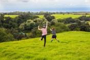 Visitors leap at a chance to explore Pu'u o Lokuana
