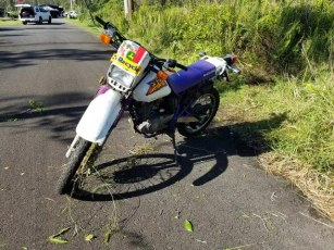 Suspect's Motorcycle