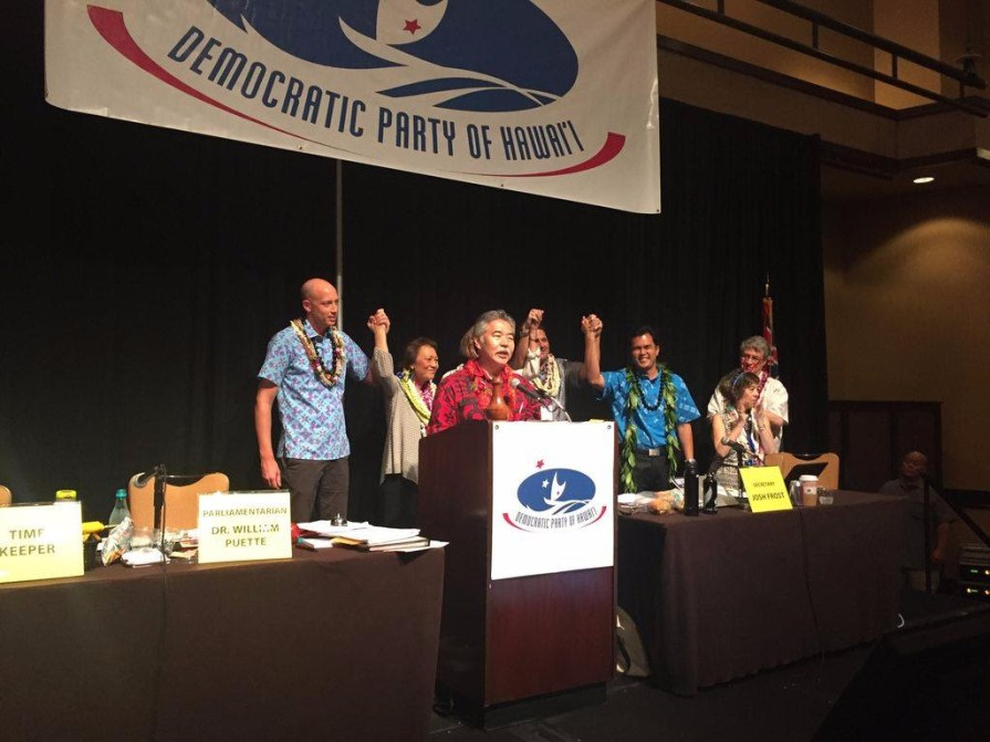 Hawai'i Democratic Convention 2016
