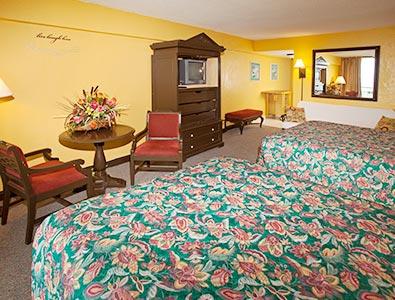 Daytona Beach Accommodations Queen Hawaiian Inn Beach