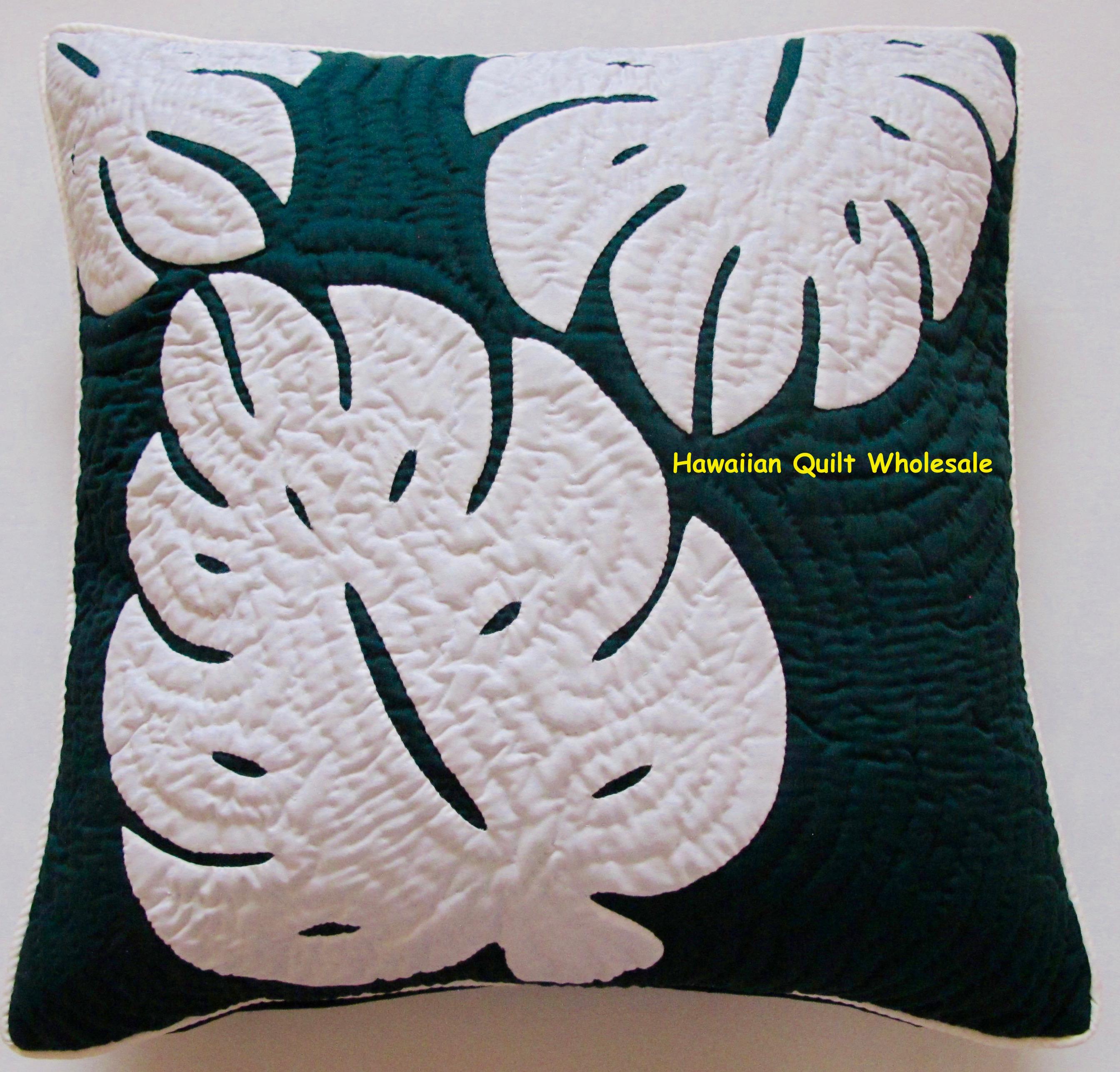 2 monstera pillow covers odg