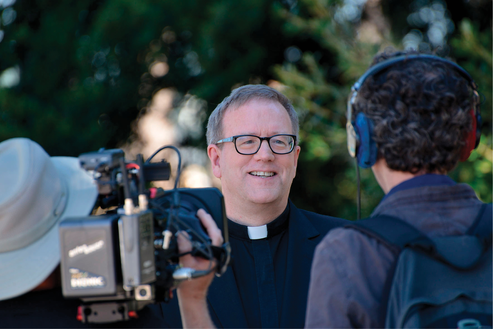 Word on Fire: Media-savvy bishop makes first visit to Isles