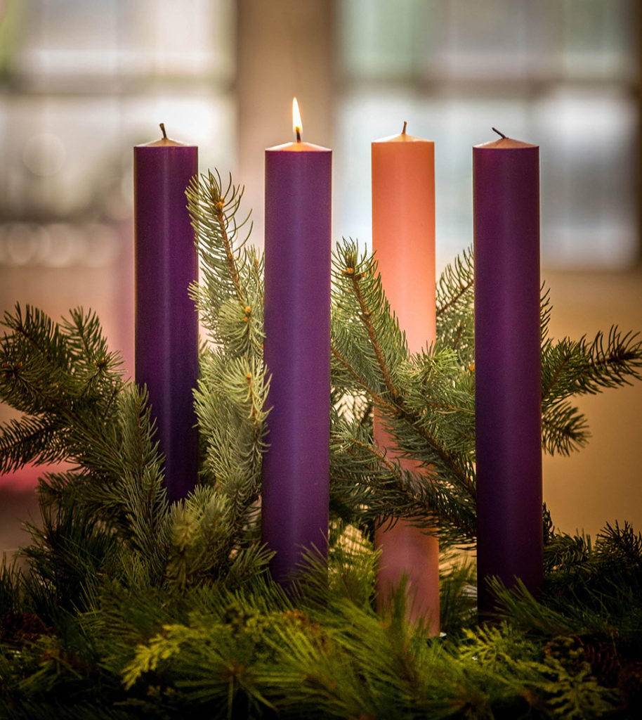 Image result for advent wreath second candle
