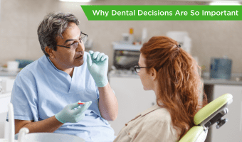 Avoiding the dentist can lead to missed early detection of health events originating in the mouth. Taking steps to keep your mouth healthy goes a long way