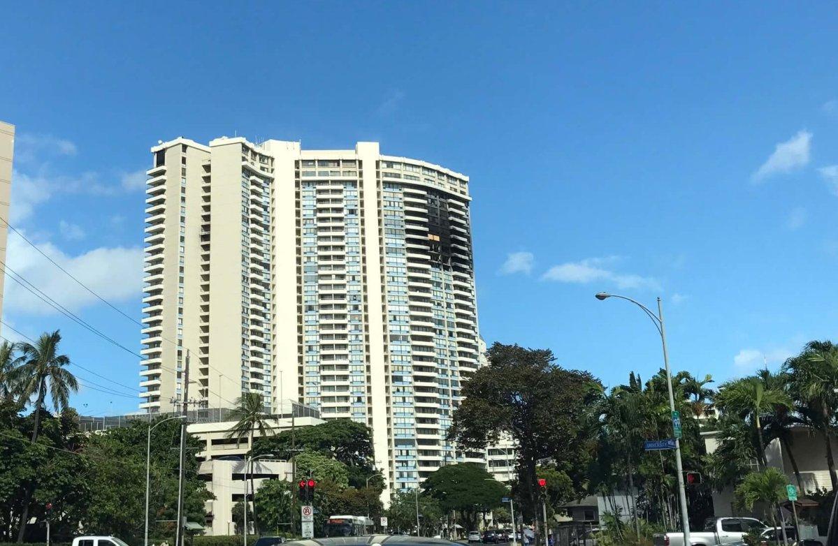 ハワイコンド火災事故 スプリンクラー設置コストと新法案の内容
