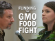 Hawaii GMO Food Fight image with two people facing off