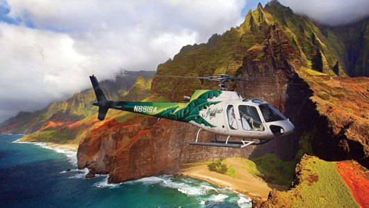 Safari Helicopter - Kauai adventure travel & ecotourism