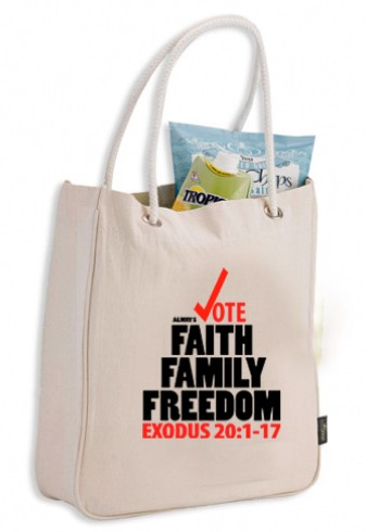 iVOTE Canvas Bag