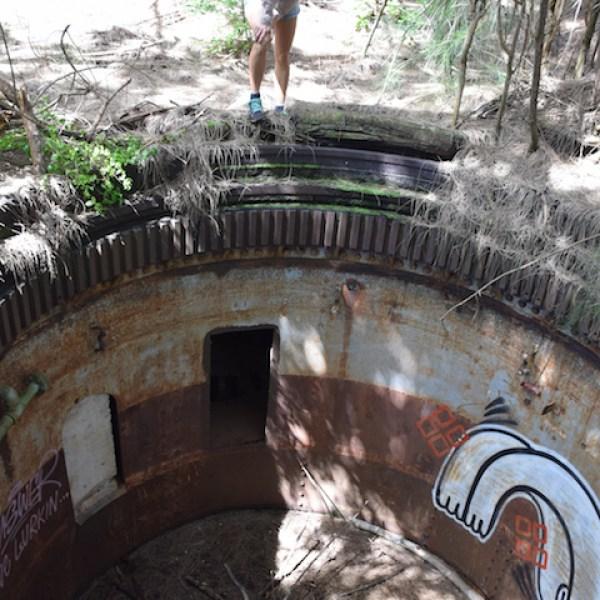 Concealed Abandoned Bunker