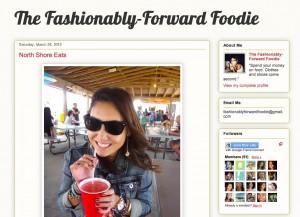 Fashionably Forward Foodie