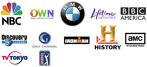 Network & cable TV channel logos