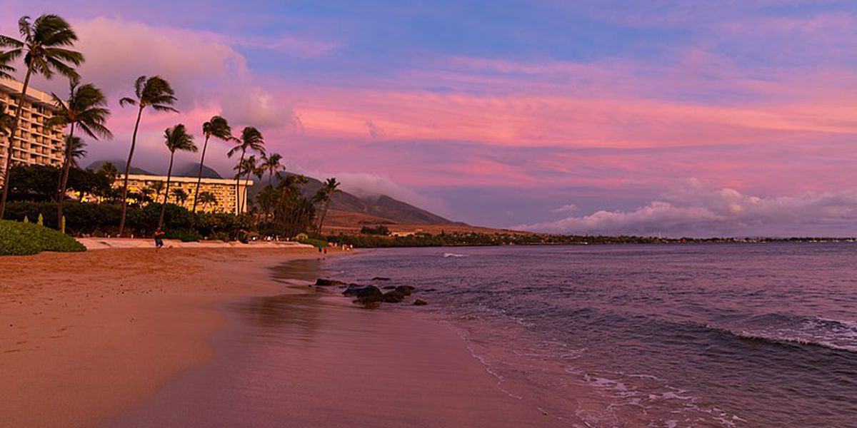 Hawaii ranked a top beach destination for travelers this spring break