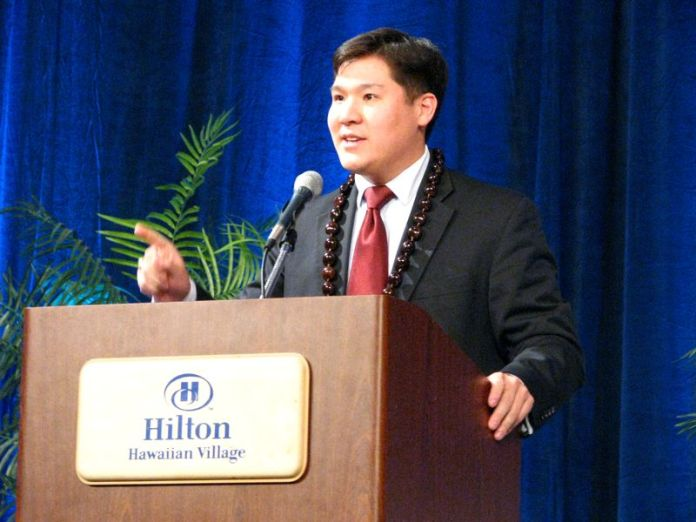 David Chang candidate for House 28
